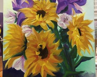 SUNNY original oil painting