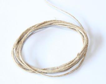 linen thread special jewelry, 5 meters