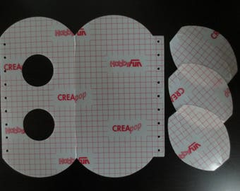 CREApop - holder for 2 candles - sticker - REF. 3901 814