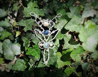 """Elven pendant """"morning star"""""""