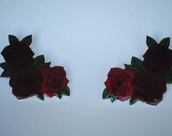 Rose Pin Set