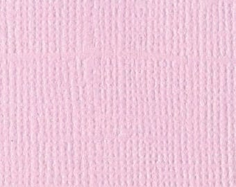 Scrapbooking Bazzill textured canvas paper Romance 30 x 30 cm - Ref 11110138