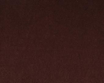 Felt 2 mm Brown - 30 x 30 cm - Ref FE3918 cutting