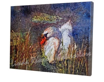 Canvas Print - Swan
