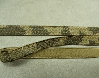 Ribbon military camouflage - 1 cm