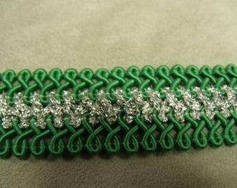 FANCY 2.5 cm - Green Ribbon