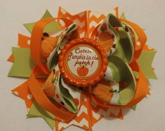 Cutest Pumpkin in the Patch Boutique Hair Bow