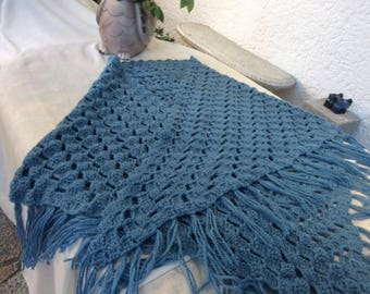 Lovely Blue Shawl