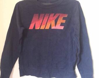 Nike spell out sweatshirt