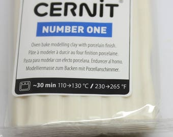 Polymer clay CERNIT Number One color CHAMPAGNE-56 Gr