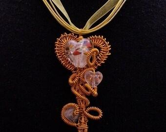 orange and yellow pendant