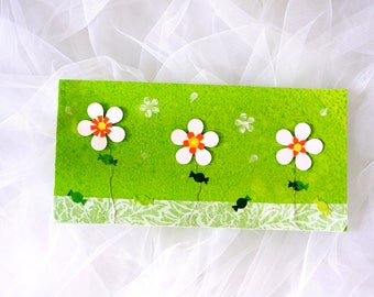 Spring card embossed for all occasions