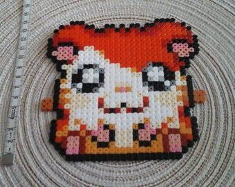 Hamtaro in pixel art