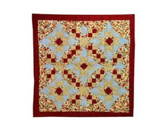quilting, patchwork geometric pattern fabric plaid