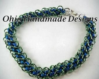 """Chainmaille """"Abhainn"""" bracelet"""
