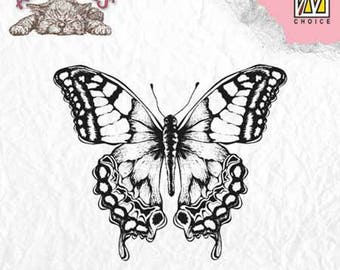 """""""Butterfly"""" _ANI010 clear stamp"""