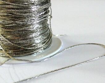 Fine 1 meter - Platinum/nickel color chain