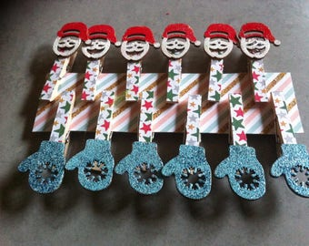 Christmas ornaments, decorations for tables brand places