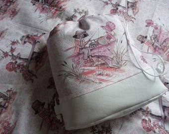 Backpack 'toy' romantic fabric.