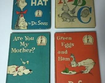 Vintage late 1950-1960's Dr.Seuss books
