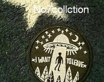 UFO Alien Patch