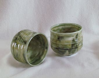 Enamel cups green marbled cooking temperature