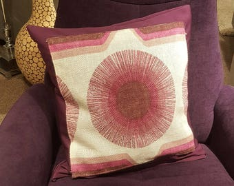 cushion cover, supernova, retro