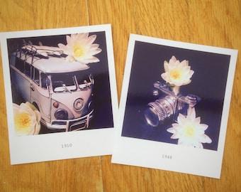 Polaroid photos- hippy