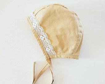 Vintage Bonnet *Reversible* / Baby / Toddler / Vintage Floral