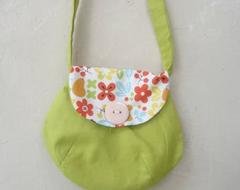 Bag child in color lime green