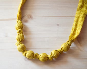 "Necklace Mod. Sunflower collection ""woven"""