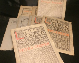 Interesting collection of early 20th century Elbert Hubbard Roycroft published books