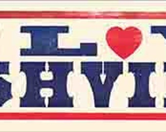 I love Nashville Tennessee   Ryman Theater Grand Ole Opry  Travel Decal bumper sticker