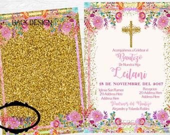 Mi Bautizo Invitations,Bautizo Invitations, Baptism Invitation,Mexican Bautizo Invitations,Invitaciones Bautizo,Invitations Bautizo Mexicano