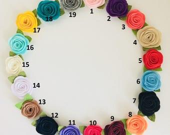 Roses Headbands / Hair clip, Valentine's Headbands, Valentine's Hair clip