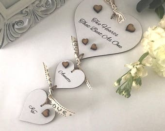 Two Hearts That Beat As One Personalised Gift P51