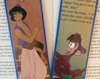 Aladdin and Abu Disney Bookmarks