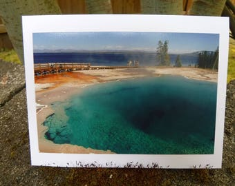 Turquoise Depths - Yellowstone Pools Collection