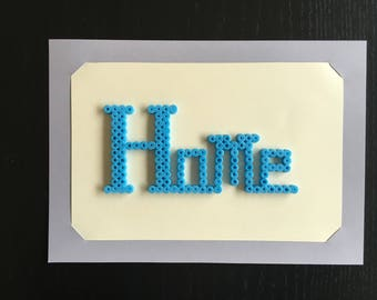 Decorative frame in Hama wall home