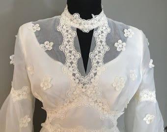 Vintage 1940's wedding dress