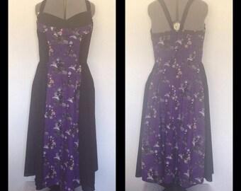 50's Rockabilly Floor length Dress