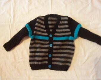 Wool Cardigan child (2 years)