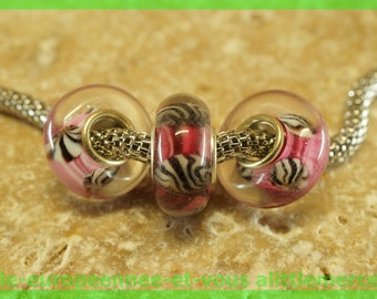 Has HQ863 European glass bead for bracelet necklace charms