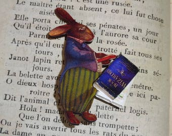 Bedtime stories (brooch clip)