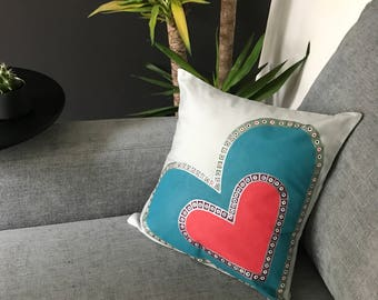 Retro Boho #3 cushion cover