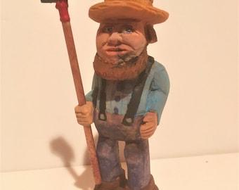 Amish Farmer /shovel