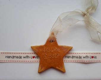 You're a Star Hanger / Key ring Gift