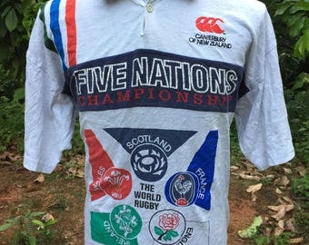 Canterburry five nation champion