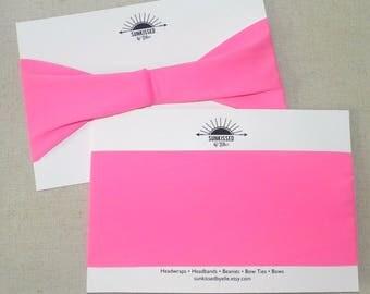 Hot Pink UV 50+ Yoga Headband, Fitness Headband, Running Headband