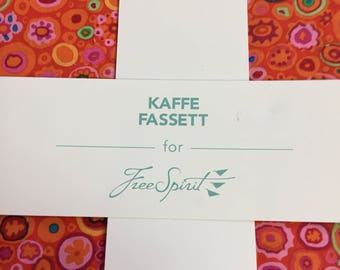 """Kaffe Fassett (CITRUS) 10"""" charm pack"""